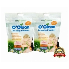 Baby Organix O''Clean Laundry Powder Twin Pack