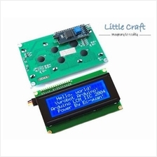I2C Character LCD 2004 Blue Blacklight for Arduino, Respberry