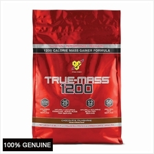 BSN True Mass 1200, Chocolate Milkshake, 10.38lbs (Weight Gainer)