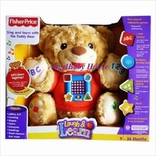Fisher Price Laugh & Learn Teddy Bear educational soft toy music light