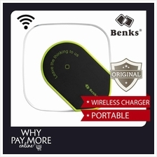 Free Receiver l Benks Qi Wireless Phone Charger Samsung iPhone iWatch