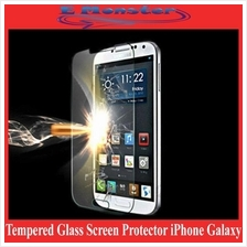 Tempered Glass Screen Protector iPhone 4 5 5s Galaxy S4 S5 Note 2 3