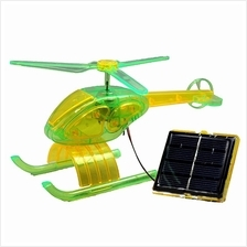 Solar Toy Helicopter Plane DIY Educational Assembly Kit