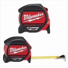 MILWAUKEE Heavy Duty Magnetic Double Sided Measuring Tape 8M/26FT