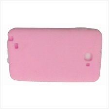 Samsung Note 2 rubber Jelly Case Cover Casing (Pink)