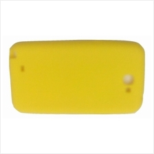 Samsung Note 2 rubber Jelly Case Cover Casing (Yellow)