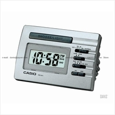 CASIO DQ-541D-8 bedside alarm w/snooze LED light silver