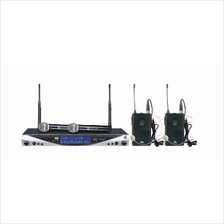 IVA UX-34D H2 - Wireless System with 2 Handheld Mics (NEW) - FREE SHIP