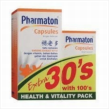 Pharmaton Capsules (100+30's) (Energy) *OCT Offer Free 10 Capsules!*