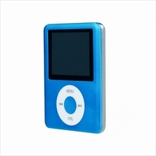 3rd Generation MP4 MP3 Player with 16GB Memory - Blue