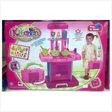 Kids Mini Kitchen Take Away Toys (Dapur Kanak Kanak Bagasi ) RM85
