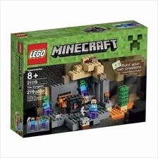 LEGO Minecraft 21119 the Dungeon Building Kit Get it tmrw