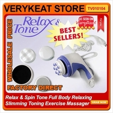 Relax & Spin Tone Full Body Relaxing Slimming Toning Exercise Massager