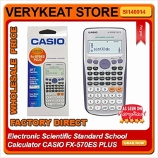 Electronic Scientific Standard School Calculator CASIO FX-570ES PLUS