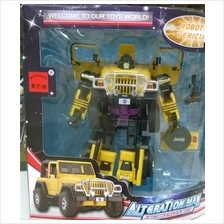 Robot Transform DetonationMountainTiger Toy Mainan