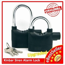 ORIGINAL Kinbar SIREN ALARM PAD LOCK  DOOR/Motor/Bike/Car Anti-Theft