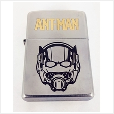 Customized Special Edition Zippo 205 Satin Chrome with Ant-Man Logo