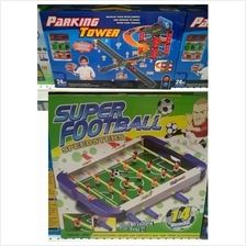 Abig Car Parking Tower Set + Football Playing Set (Mainan Kanak)