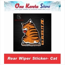 Moving Tail Kitty/Cat Car Sticker Rear Wiper/Window Cat Tail