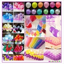 10pcs 2.8g 12' Latex Balloon for Birthday/Wedding Party Deco Balloons