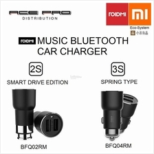 XIAOMI RoidMi USB Car Charger Bluetooth Music Player FM Transmitter