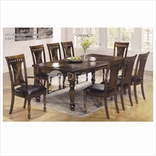 MF DESIGN PIPER 1+8 DINING SET ( Rectangular Table )