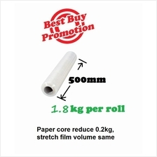 Stretch Film 500mm Promotion ( 1 roll to 6 rolls ) clear wrapping