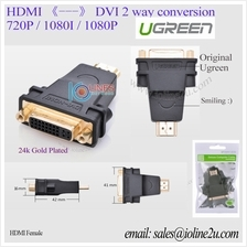 UGREEN DVI Female to HDMI male Full HD Gold plated 1080P Converter adapter