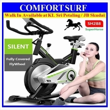 SH288 Gym / Fitness Spinning Exercise Bike + Spring + Full Cover Wheel