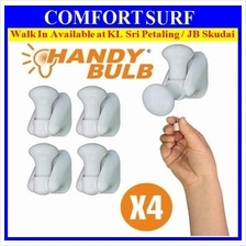 4pcs Pack Insta Handy Bulb Portable LED Cordless Wall Handy Pull Lamp