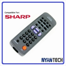 CRT RCA TV Remote Control for SHARP