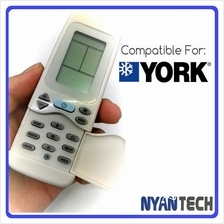 Air Conditioner Remote Control for YORK Replacement AirCond Controller