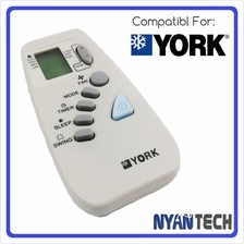 YORK acson aircon air cond air conditioner remote control replacement