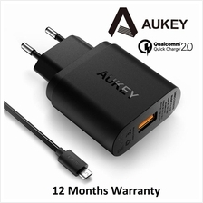 [Qualcomm Certified] Aukey 18W 1 Port USB Charger Quick Charge 2.0