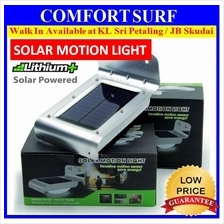Solar Infrared Motion Sensor 16 LED Security Light Wall Mount Lamp