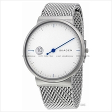 SKAGEN SKW6193 Men's Ancher Mono SS Mesh Bracelet White