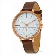 SKAGEN SKW2356 Women's Hagen Small-second Leather Strap Brown