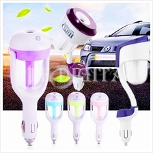 [FREE Aroma Oil] 2In1 Nanum Aroma Car Humidifier Purifier Air Freshner