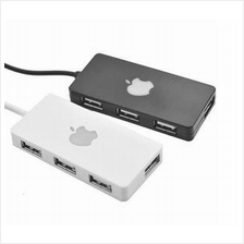 Hi-Speed Mini 4 Port USB 2.0 Hub for Laptop & PC 480 mbps
