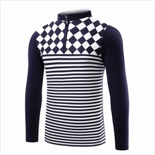 JF MFC83 Men´s Casual Long Sleeve Polo T-Shirts - 2 Colors
