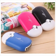 Mini Portable Air Conditioner Cooler Fan Rechargeable battery USB