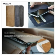 Genuine ROCK Wallet Card Pocket Leather Case Cover iPhone 6 6S Plus