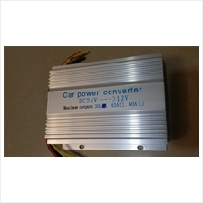 CAR POWER CONVERTER DC-DC 24V-12V (30A)
