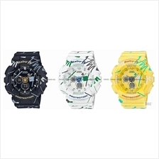 CASIO BA-120SC Baby-G ana-digi graffiti design resin strap