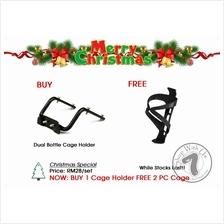Dual Bottle Cage Holder Only at RM28/pc,Free 2 PC Cage