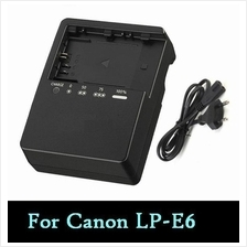 LP-E6 LC-E6E Battery Charger for Canon EOS 7D, 60D, 5D Mark II/III
