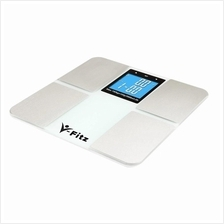 V-Fitz BMI Digital Scale Body Fat Composition LCD Weighing Scale