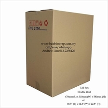 Tall Box Size Carton Double Wall 5pcs