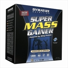 Dymatize Super Mass Gainer 12 lbs Chocolate