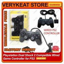 Playstation Dual Shock 2 Compatible Wired Game Controller for PS2